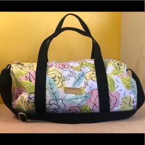 Benefit Cosmetics Floral Duffle Bag